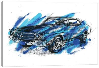 Chevelle SS 1970 Canvas Art Print