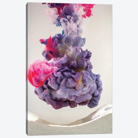 Aquaviva Purple I Canvas Print #FJB2} by Frank Banda Art Print