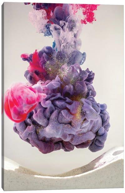 Aquaviva Purple I Canvas Art Print