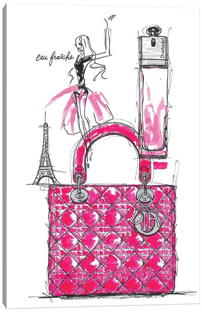 Dior Addict Canvas Art Print