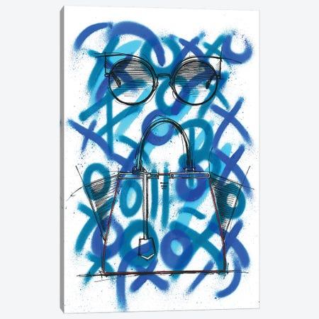 Eyeshine And 3 Jours Canvas Print #FJB39} by Frank Banda Canvas Art