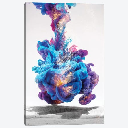Galaxia irr V J0715 Canvas Print #FJB50} by Frank Banda Canvas Artwork