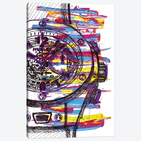 Hublot Love Art Canvas Print #FJB55} by Frank Banda Art Print