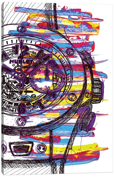 Hublot Love Art Canvas Art Print