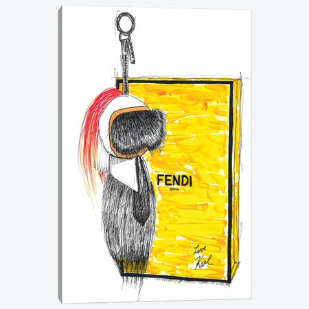 Karlito Canvas Print #FJB60} by Frank Banda Canvas Print