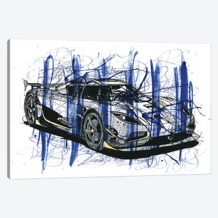 Koeniegsegg Agera RS Naraya Canvas Print #FJB61} by Frank Banda Art Print