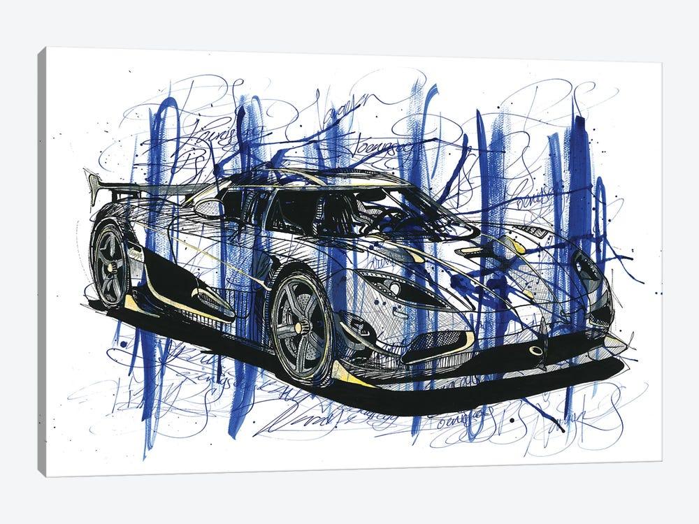 Koeniegsegg Agera RS Naraya by Frank Banda 1-piece Art Print