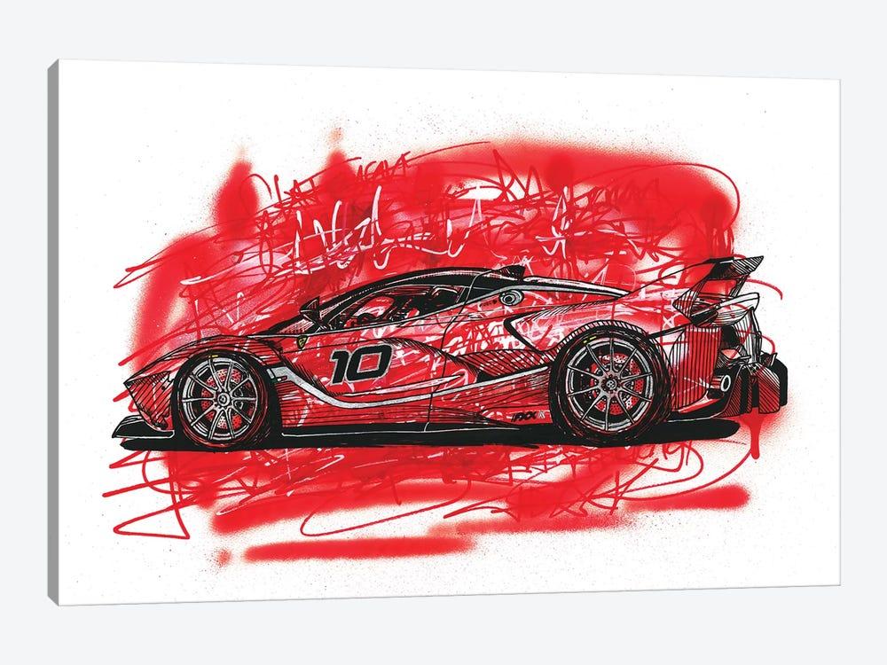La  Ferrari FXX K by Frank Banda 1-piece Canvas Artwork