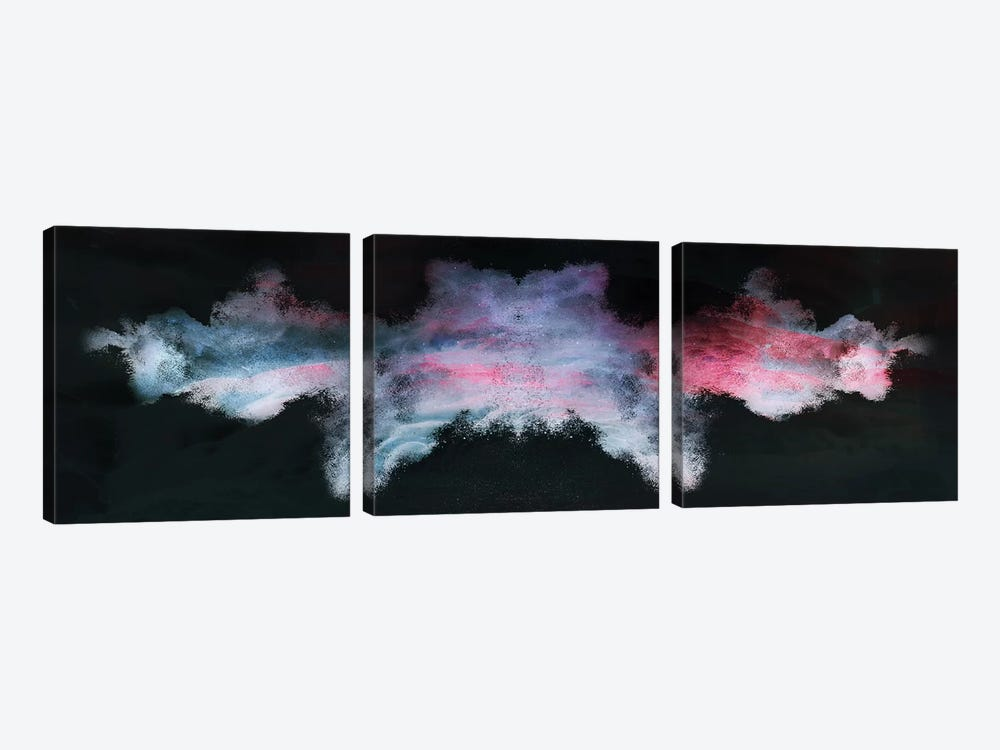 Nebula de Arena by Frank Banda 3-piece Canvas Artwork