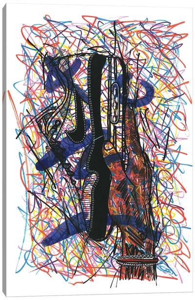 Nike Air Max Canvas Art Print