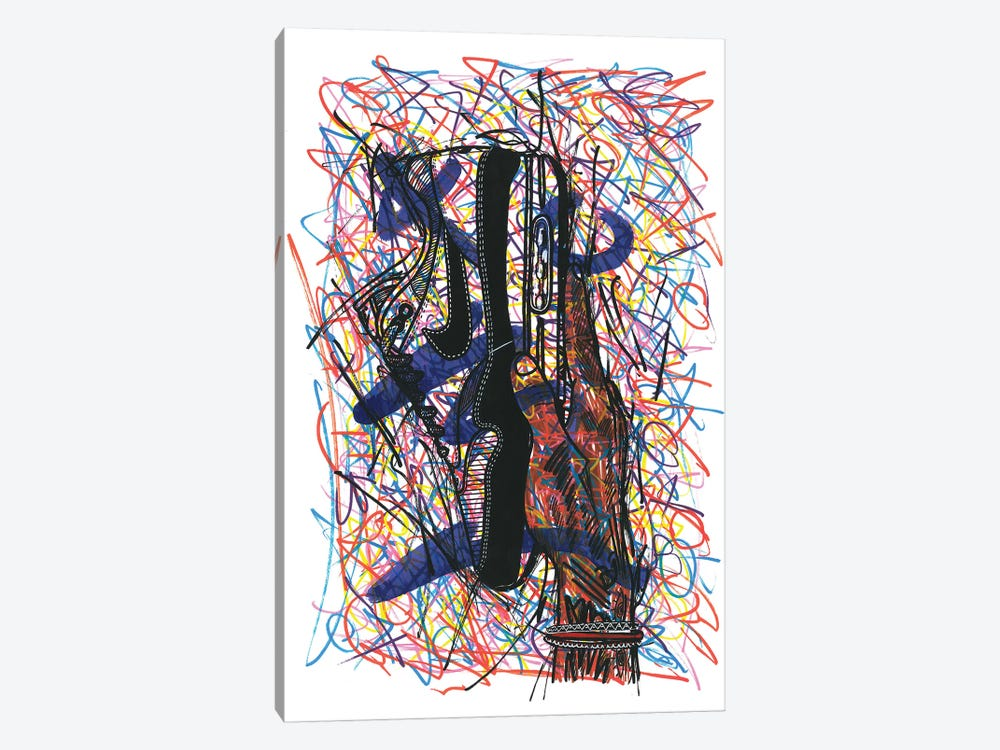 Nike Air Max by Frank Banda 1-piece Canvas Print