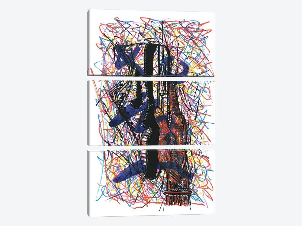 Nike Air Max by Frank Banda 3-piece Canvas Print