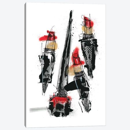 Rouge The Eternal Power Canvas Print #FJB81} by Frank Banda Canvas Art Print