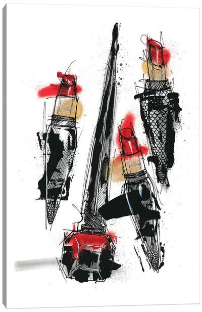 Rouge The Eternal Power Canvas Art Print