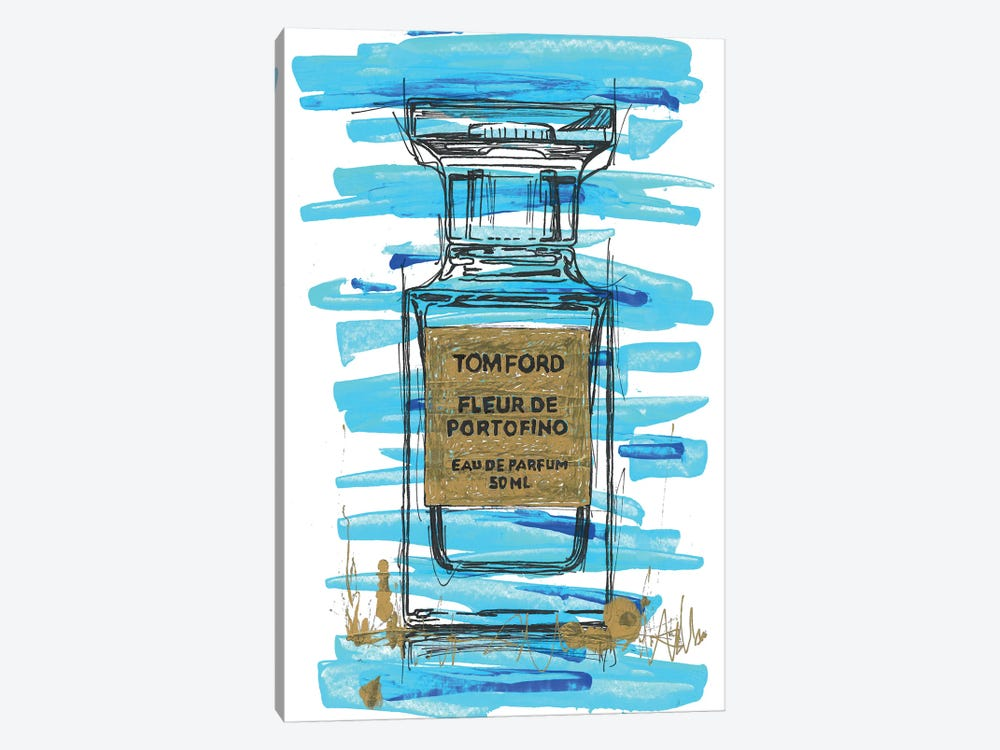 Tomford Fleur De Portifino by Frank Banda 1-piece Canvas Artwork