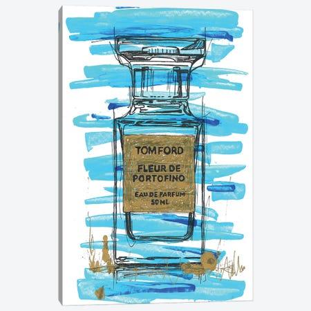 Tomford Fleur De Portifino Canvas Print #FJB84} by Frank Banda Canvas Artwork