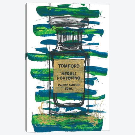 Tomford Neroli Portofino Canvas Print #FJB85} by Frank Banda Canvas Wall Art