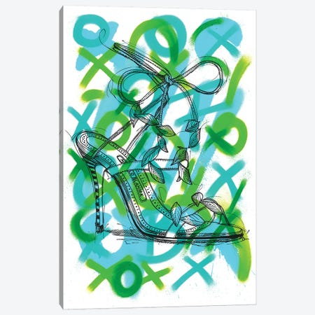 Victoria Botanical Canvas Print #FJB93} by Frank Banda Canvas Artwork