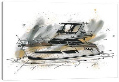 Yachting Canvas Art Print