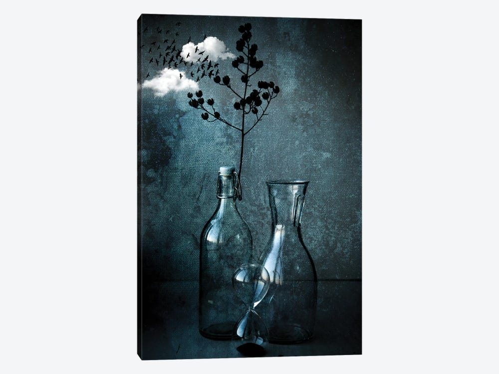 Time Passed Should Go !! by Farid Kazamil 1-piece Canvas Art