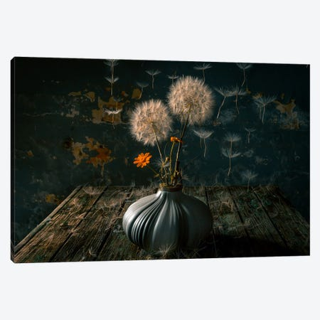 The Paratroopers Canvas Print #FKA2} by Farid Kazamil Canvas Print
