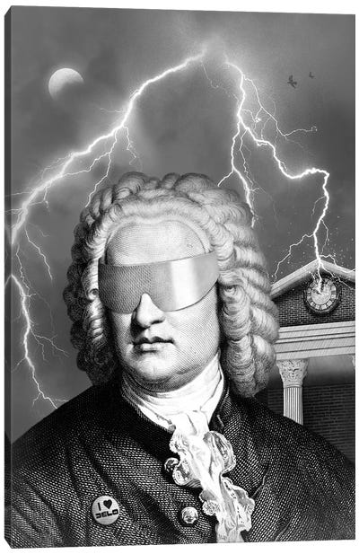 Bach To The Future Canvas Art Print