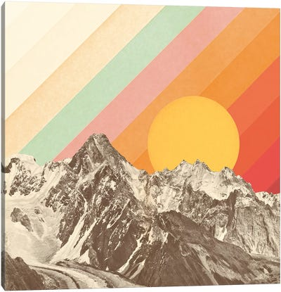 Mountainscape I Canvas Art Print