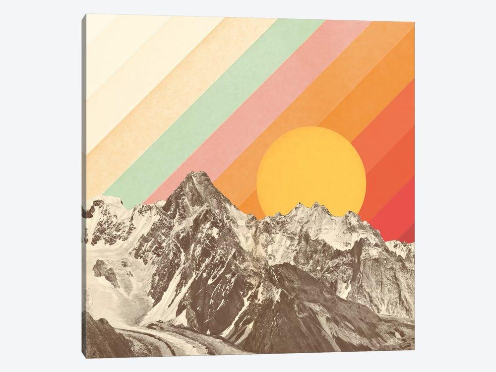 Mountainscape I by Florent Bodart 1-piece Canvas Artwork