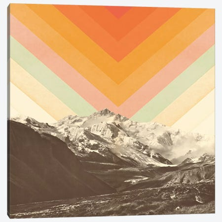 Mountainscape II Canvas Print #FLB106} by Florent Bodart Canvas Artwork