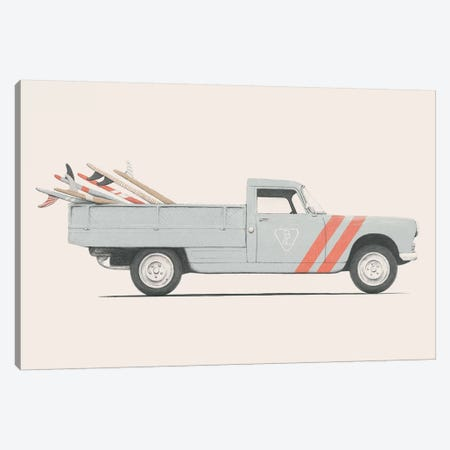 Pickup Canvas Print #FLB107} by Florent Bodart Canvas Art
