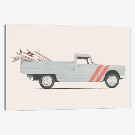 Pickup Canvas Print #FLB107} by Florent Bodart Canvas Art