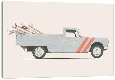 Pickup Canvas Art Print