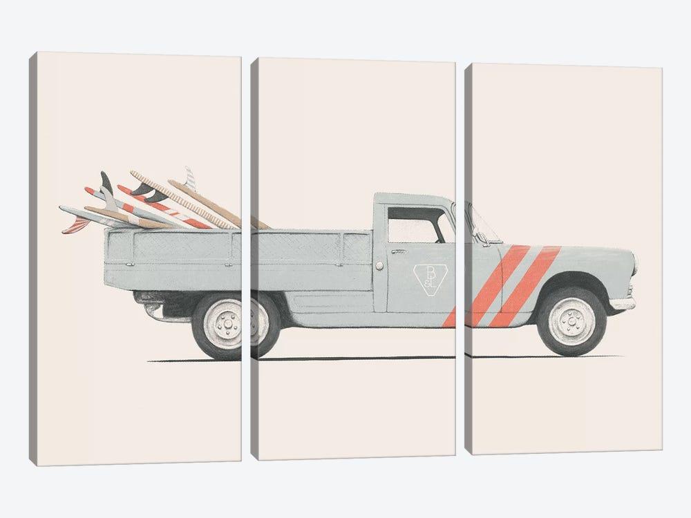 Pickup by Florent Bodart 3-piece Canvas Artwork