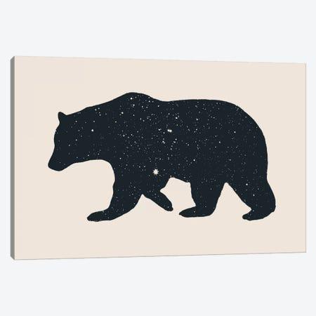 Bear Canvas Print #FLB10} by Florent Bodart Canvas Artwork