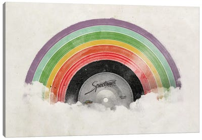 Rainbow Classics Canvas Art Print
