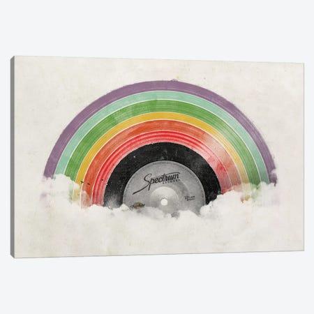 Rainbow Classics Canvas Print #FLB110} by Florent Bodart Canvas Wall Art