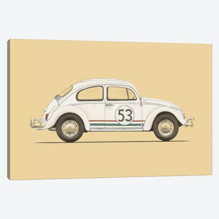 Beetle Canvas Print #FLB11} by Florent Bodart Canvas Artwork