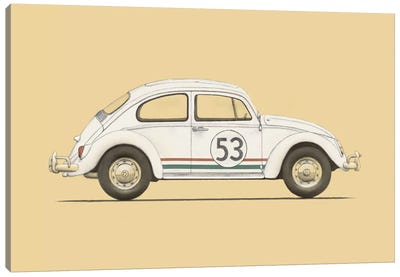 Beetle Canvas Art Print