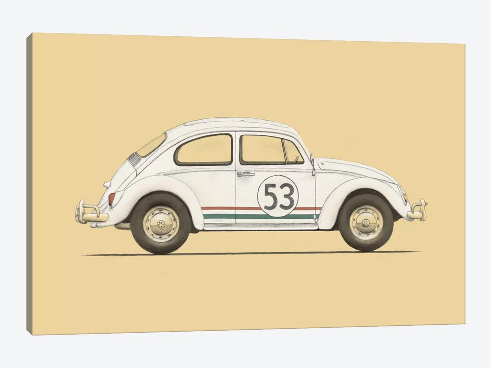 Beetle 1-piece Canvas Wall Art