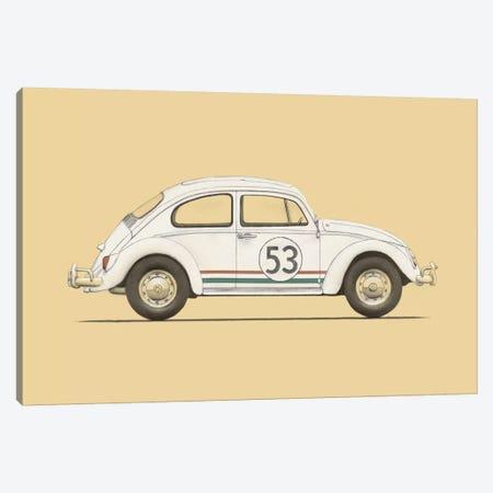 Beetle Canvas Print #FLB11} by Florent Bodart Canvas Artwork