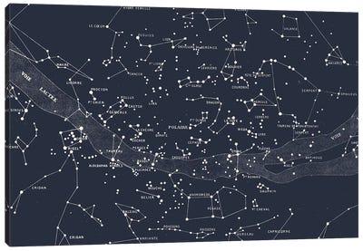 Carte du Ciel II Canvas Art Print