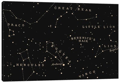 Constellation I Canvas Art Print