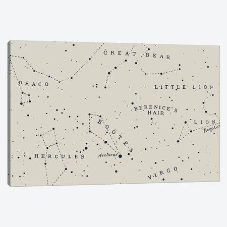 Constellation I On White Canvas Print #FLB129} by Florent Bodart Art Print