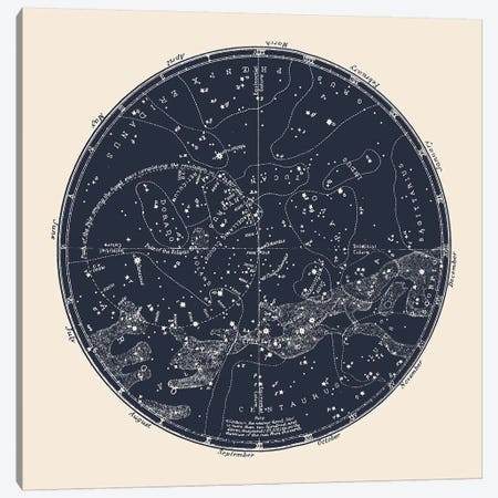 Southern Constellations Canvas Print #FLB153} by Florent Bodart Canvas Art