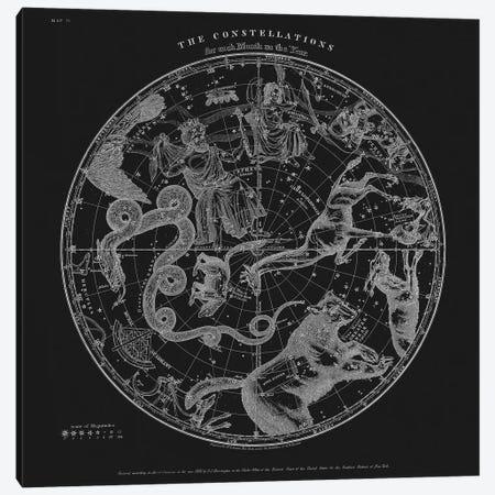 The Constellations Canvas Print #FLB154} by Florent Bodart Canvas Print