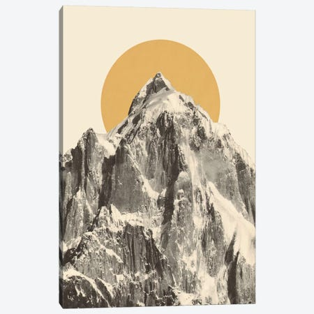 Mountainscape V Canvas Print #FLB163} by Florent Bodart Art Print