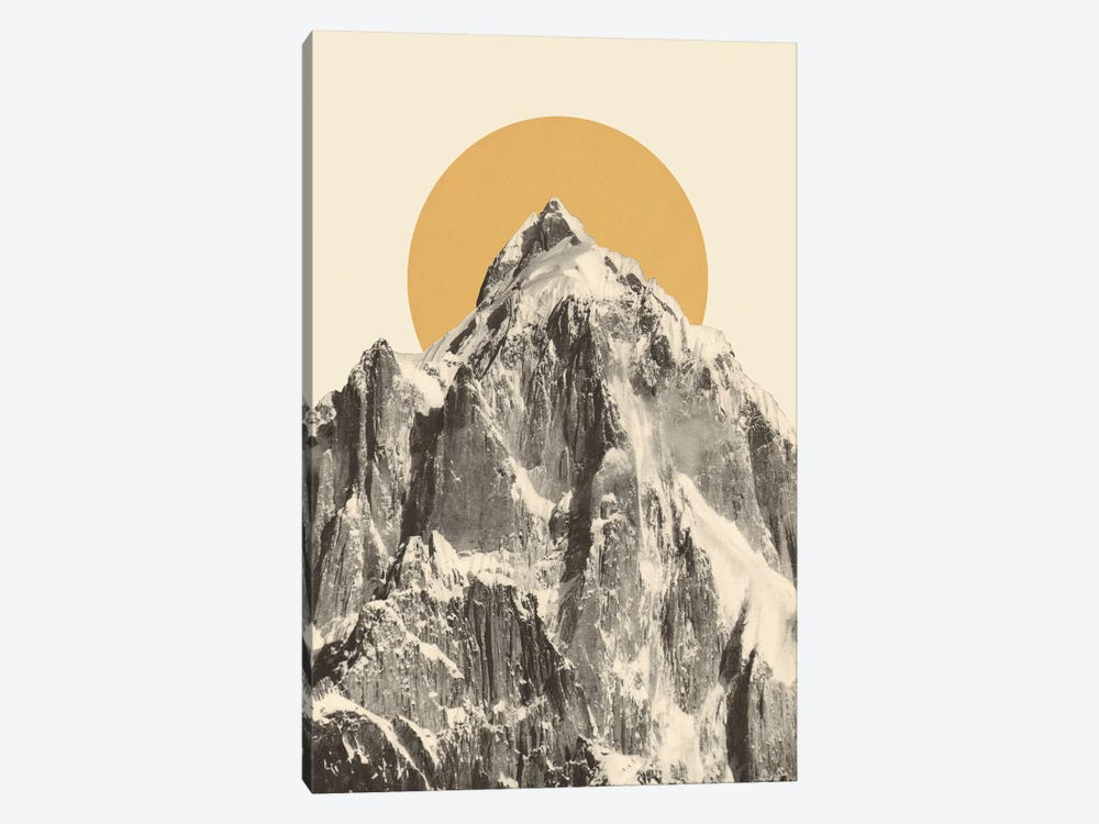 Mountainscape V by Florent Bodart 1-piece Canvas Art