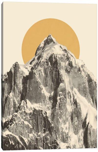 Mountainscape V Canvas Art Print