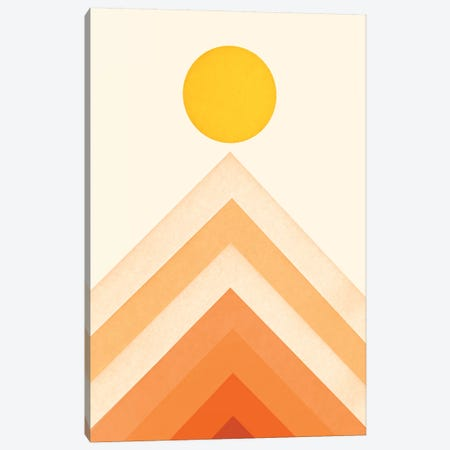 Mountainscape IV Canvas Print #FLB166} by Florent Bodart Canvas Art