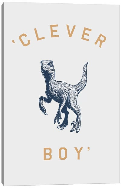 Clever Boy Canvas Art Print